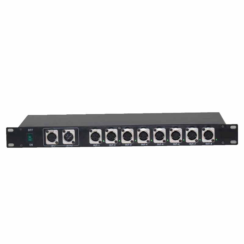 8 way DMX splitter