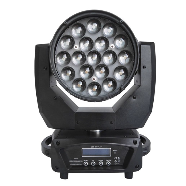 LED Wash Zoom Moving Head 19x40